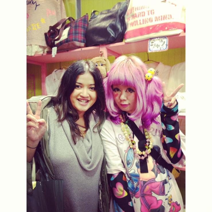 The crazy girls of Harajuku.