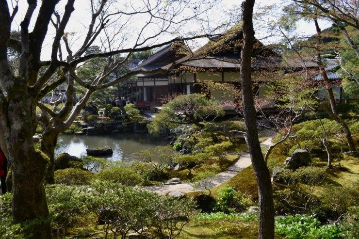 Ginkaku-ji Park.