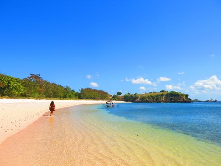 Pink beach: Lombok