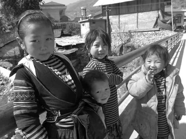 Kids of Vietnam.
