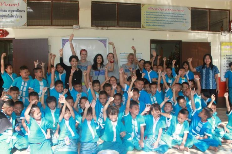 Volunteering in Northern Thailand - teaching english.