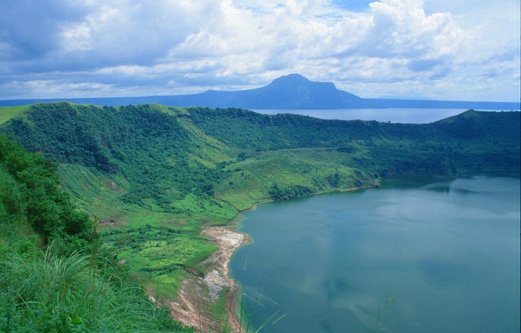 Volcanic Lake in Luzon