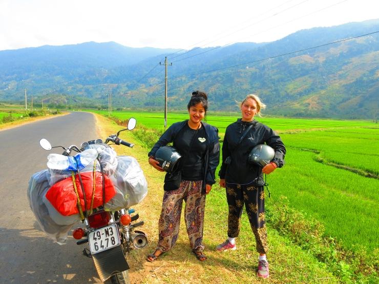 The grass is always greener in....Vietnam.