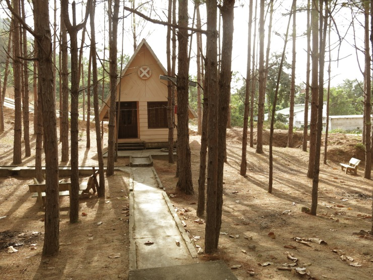 Our bungalow for the night in the middle of no-where.