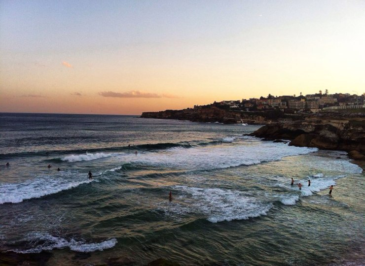 Tamarama - turning it on.
