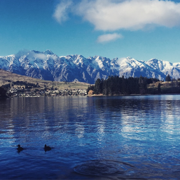 Image of lake in Queenstown